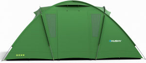 Husky tent Brime 4/6-persoons polyester 500 x 240 cm groen