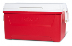 Igloo cooler Laguna 48passive 45 litres red