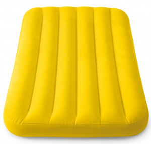 Intex children's airbed Cozy157 x 88 x 18 cm vinyl yellow