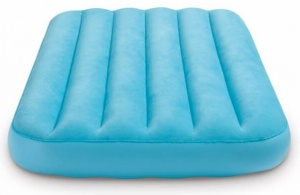 Intex children's air mattress Cozy blue 157 x 88 x 18 cm
