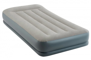 Intex dura Beam air mattress Pillow Mid-Rise99 x 191 cm PVC grey