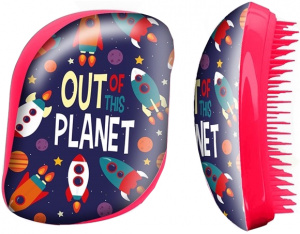 Kids Licensing hairbrush Out of this Planet red