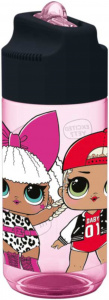 L.O.L. Surprise! trinkflasche Rock On 430 ml Tritan rosa/schwarz