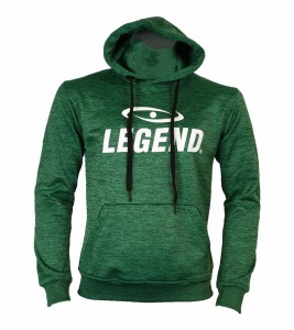 Legend Sports logo Kapuzenpulli grün