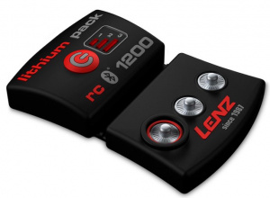 Lenz accupakket bluetooth rcB1200 zwart/rood