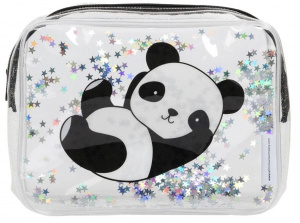 Little Lovely toilettas Panda junior 1,5 liter PVC zwart