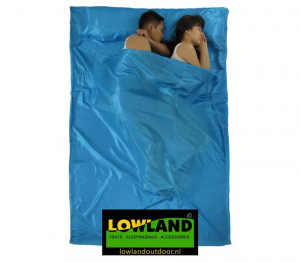 Lowland cloth bag Outdoor Superlite 220 x 160 cm polyester blue