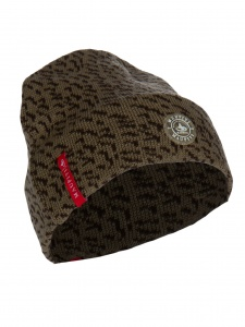 Maupiti knitted hat Kish unisex brown/black one size