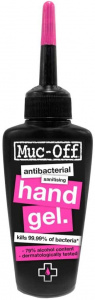 Muc-Off hand gel disinfection 50 ml 79% alcohol transparent