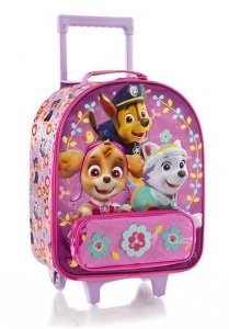Nickelodeon trolley case Paw Patrol girls 21 litres flower pink