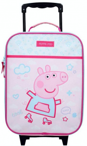 Nickelodeon trolley case Peppa Pig 17 litre polyester pink