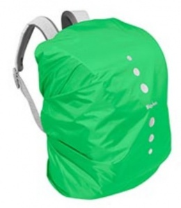 Playshoes raincover polyester backpack 6-15 litres green size S