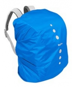 Playshoes raincover polyester backpack 6-15 litres blue size S