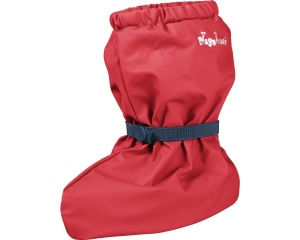 Playshoes rain shoes with fleece lining junior red