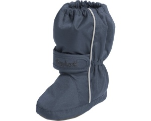 Playshoes snowboots Thermo Bootie met klittenband junior navy