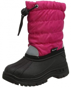 Playshoes snowboots Winter Bootie junior roze/zwart