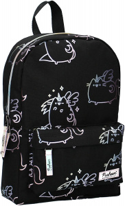 Pusheen backpack Unicorn 8 liter polyester black/white