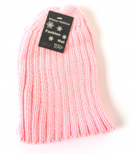 Rap Fashion hat Fashion ladies wool pink one-size