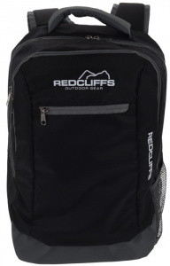 Redcliffs backpack 19 liter polyester zwart