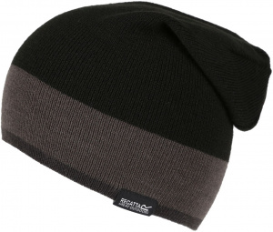 Regatta hat Davis Slouchy men's acril black one-size