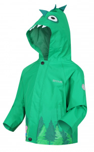 Regatta outdoor jacket Peppa Pig junior green polyester