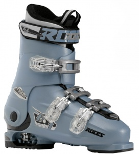 Roces skischoenen Idea Free junior grijsblauw