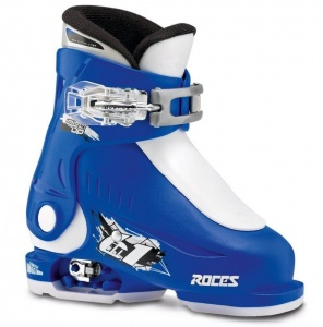 Roces skischoenen Idea Up junior blauw/wit