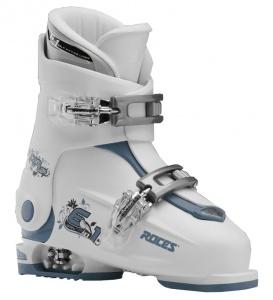 Roces skischoenen Idea Up junior wit/grijsblauw