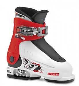 Roces skischoenen Idea Up junior wit/zwart/rood
