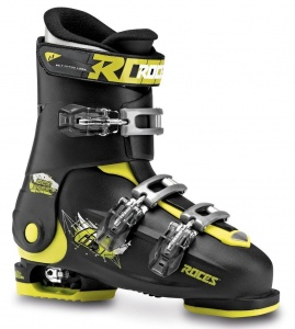 Roces skischoenen Idea Free junior zwart/lime