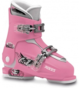 Roces skischoenen Idea Up meisjes roze/wit