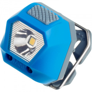 Rubytec phare Owl Mini24 lumens 5 positions 3,6 cm ABS bleu
