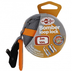 Sea to Summit bomber loop lock strap 3 meter 125 kg orange