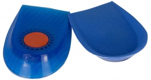 Secutex gel heel cushions men blue