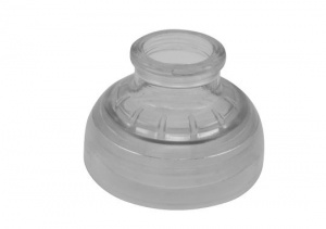 Sigg drinking cap Adapter 73 x 50 mm tritan transparent