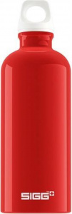 Sigg drinking bottle 0Fabulous.6 litres 7.1 cm aluminium red