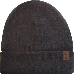 Starling lined beanie knitted unisex anthracite one size