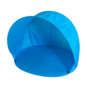 Summertime pop-Up-Strandzelt 150 x 110 x 100 cm blau