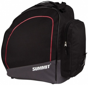 Summit skischoentas black / red