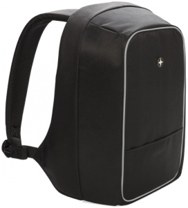 Swiss Peak backpack anti-theft 15.6 inch polyester black