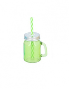 TOM mason jar groen 130 ml