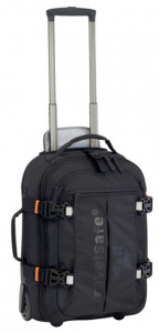 TravelSafe handbagage Travel Bag JFK24 polyester zwart 60 liter