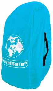 TravelSafe transport- en regenhoes 55 liter polyester blauw