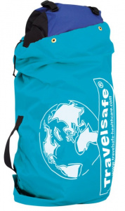 TravelSafe transporthoes backpack 85 liter polyester blauw