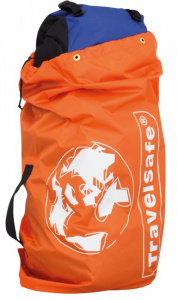 TravelSafe transporthoes backpack 85 liter polyester oranje