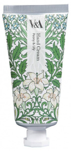 V&A handcrème Peony & Lily 50 ml groen/wit