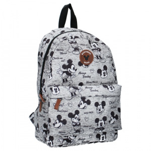 Vadobag backpack Mickey Mouse 10 liter junior polyester grey