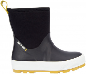 Winter-Grip snowboots Neo Welly junior rubber zwart/mosterd