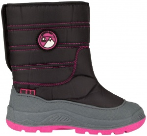 Winter-Grip snowboots Skippin Bieber girls black/pink