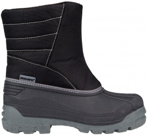 Winter-Grip snowboots Snow Base unisex zwart/grijs